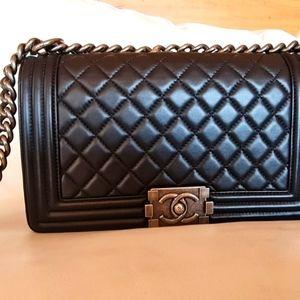 Chanel Old Medium Boy Bag